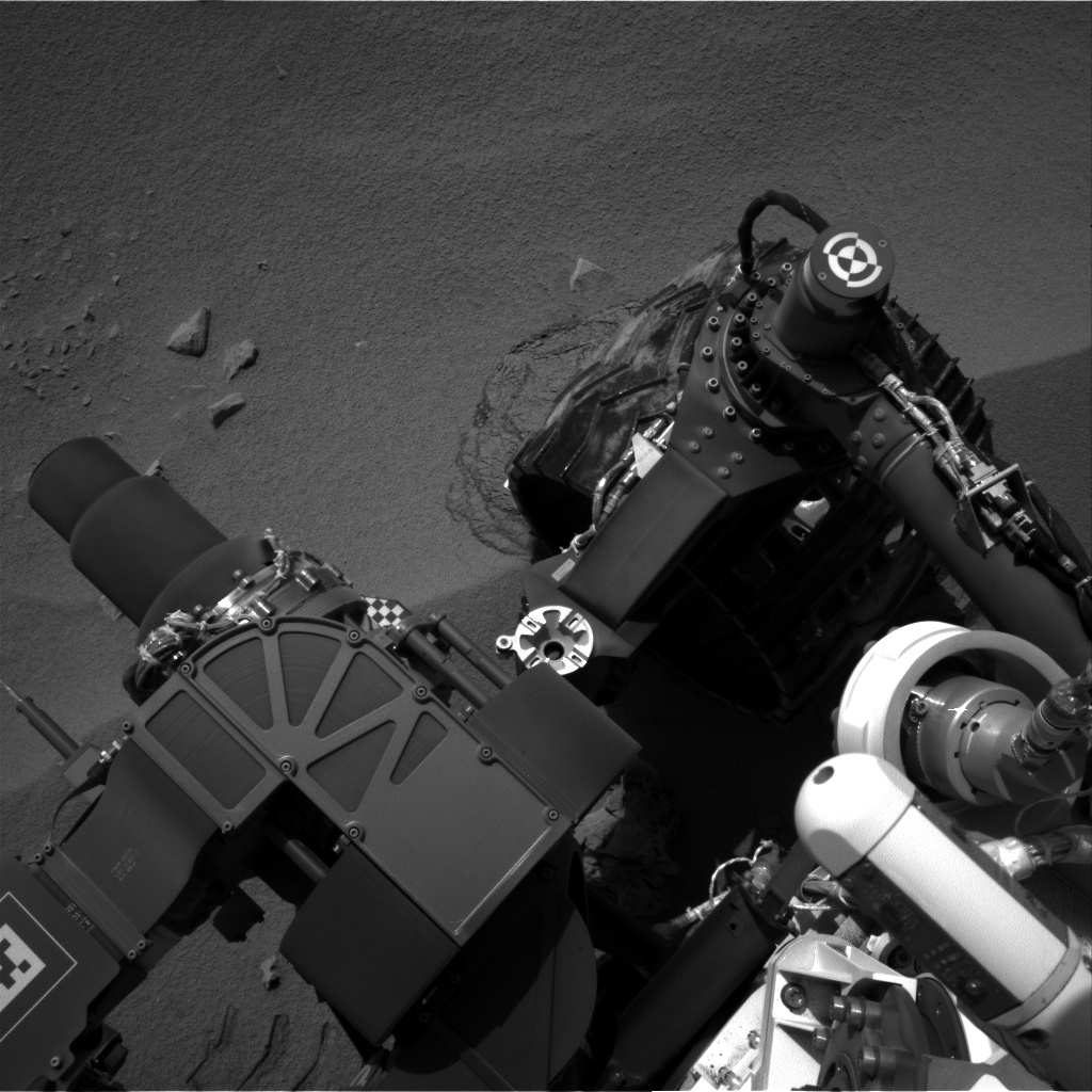 NASA's Mars rover Curiosity acquired this image using its Left Navigation Camera (Navcams) on Sol 57