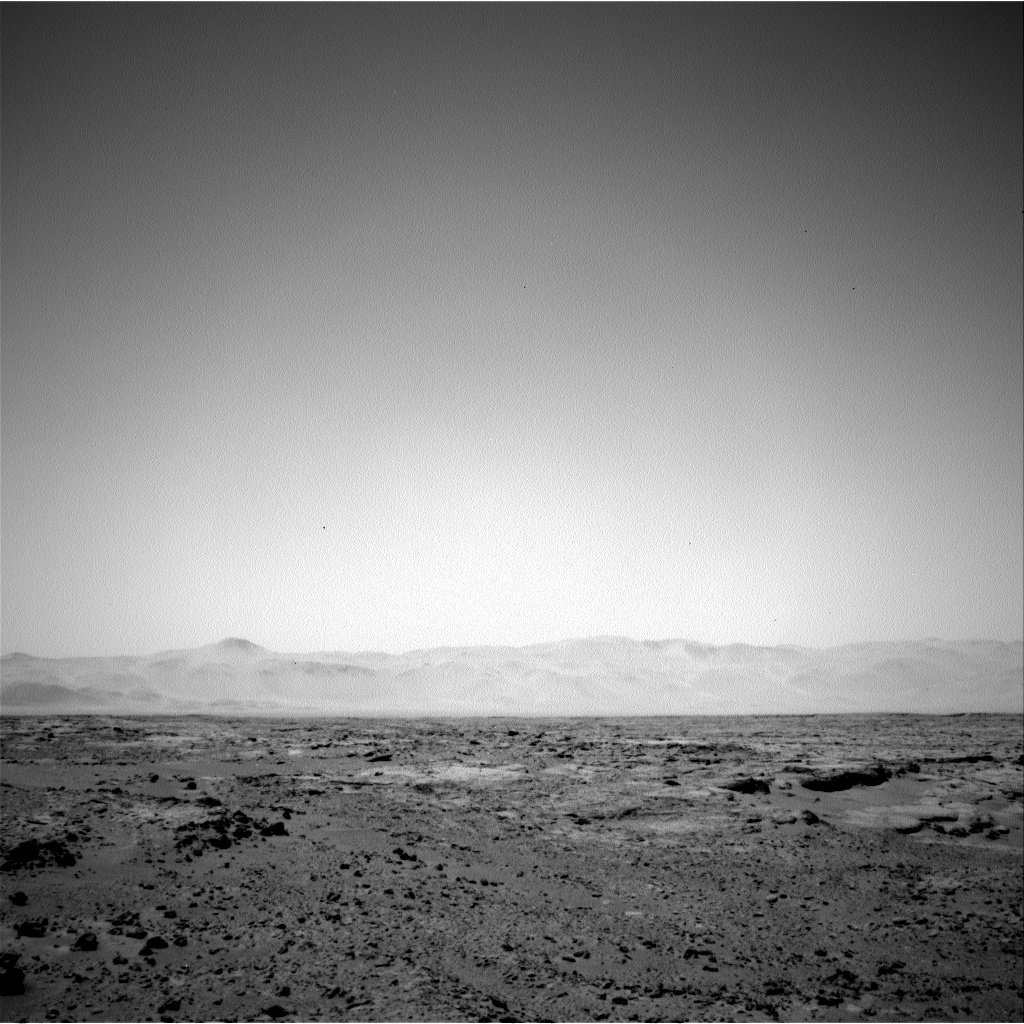 NASA's Mars rover Curiosity acquired this image using its Left Navigation Camera (Navcams) on Sol 60
