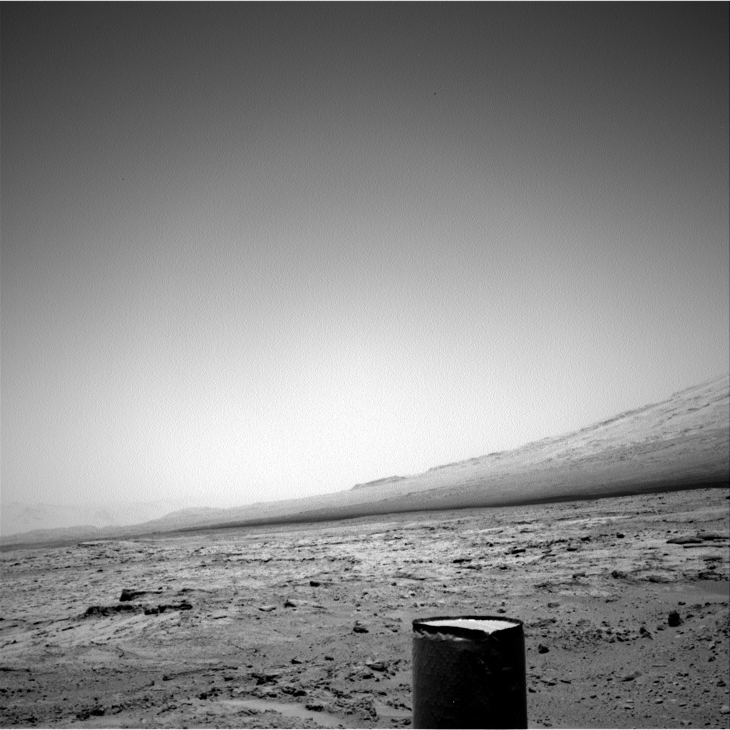 NASA's Mars rover Curiosity acquired this image using its Right Navigation Cameras (Navcams) on Sol 60