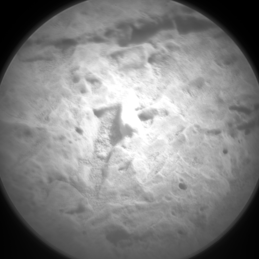 NASA's Mars rover Curiosity acquired this image using its Chemistry & Camera (ChemCam) on Sol 61