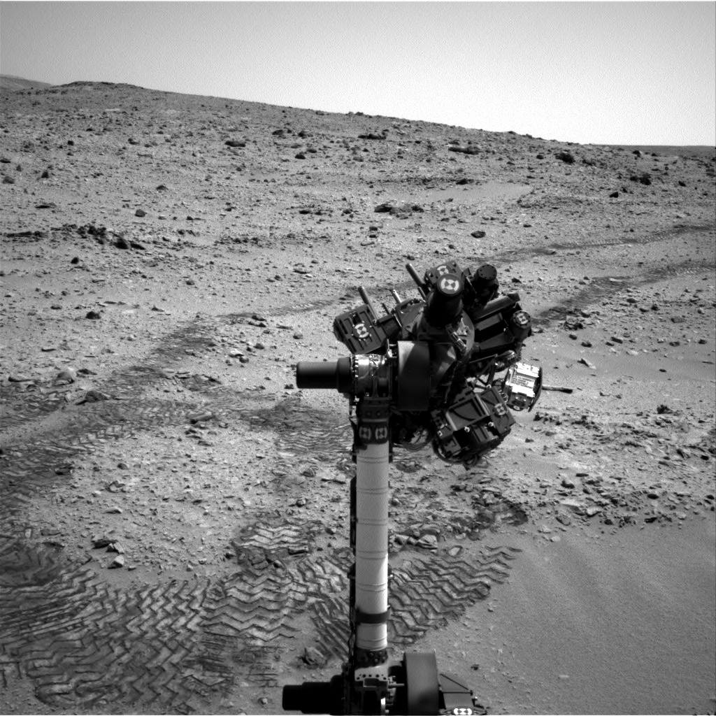 NASA's Mars rover Curiosity acquired this image using its Left Navigation Camera (Navcams) on Sol 65
