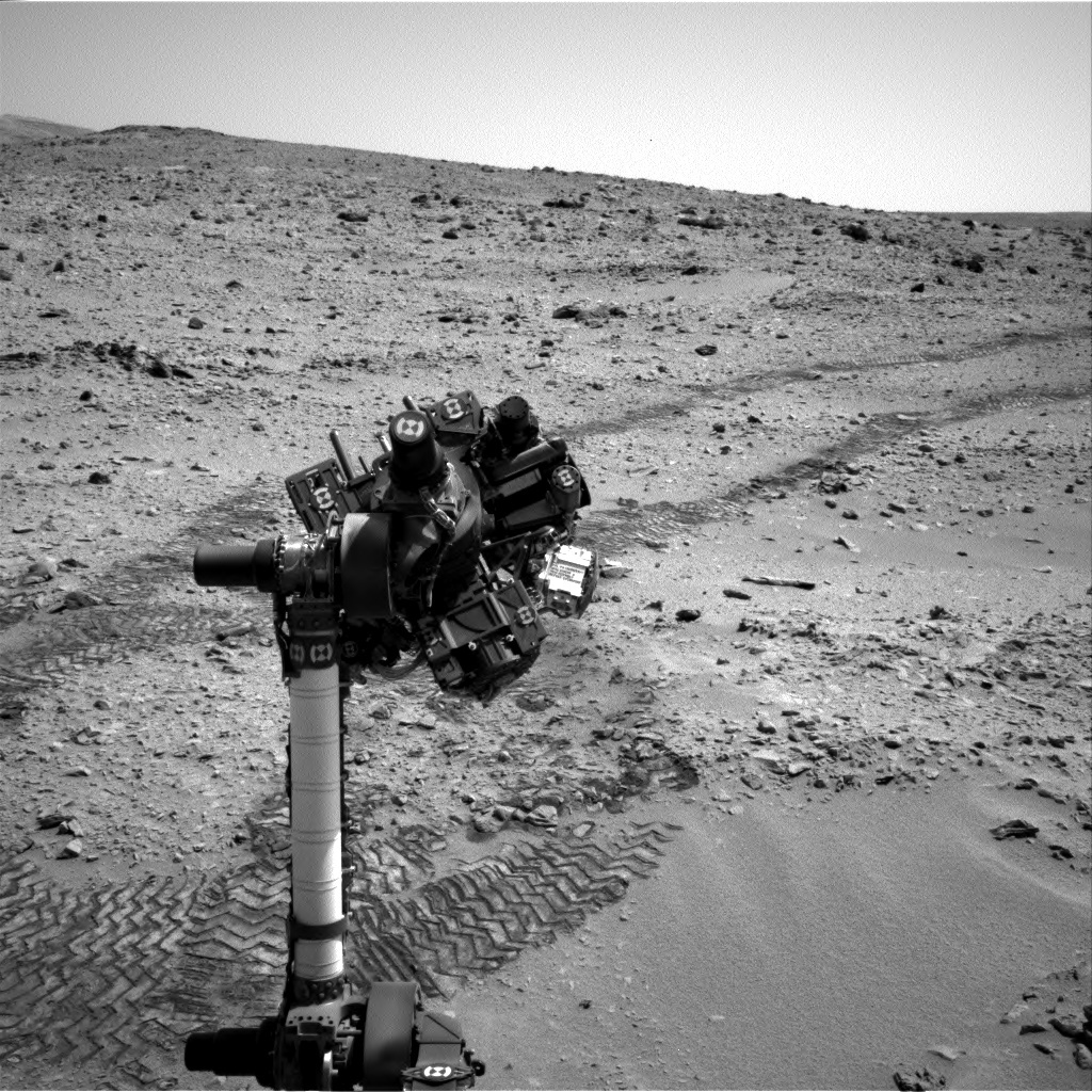 NASA's Mars rover Curiosity acquired this image using its Right Navigation Cameras (Navcams) on Sol 65