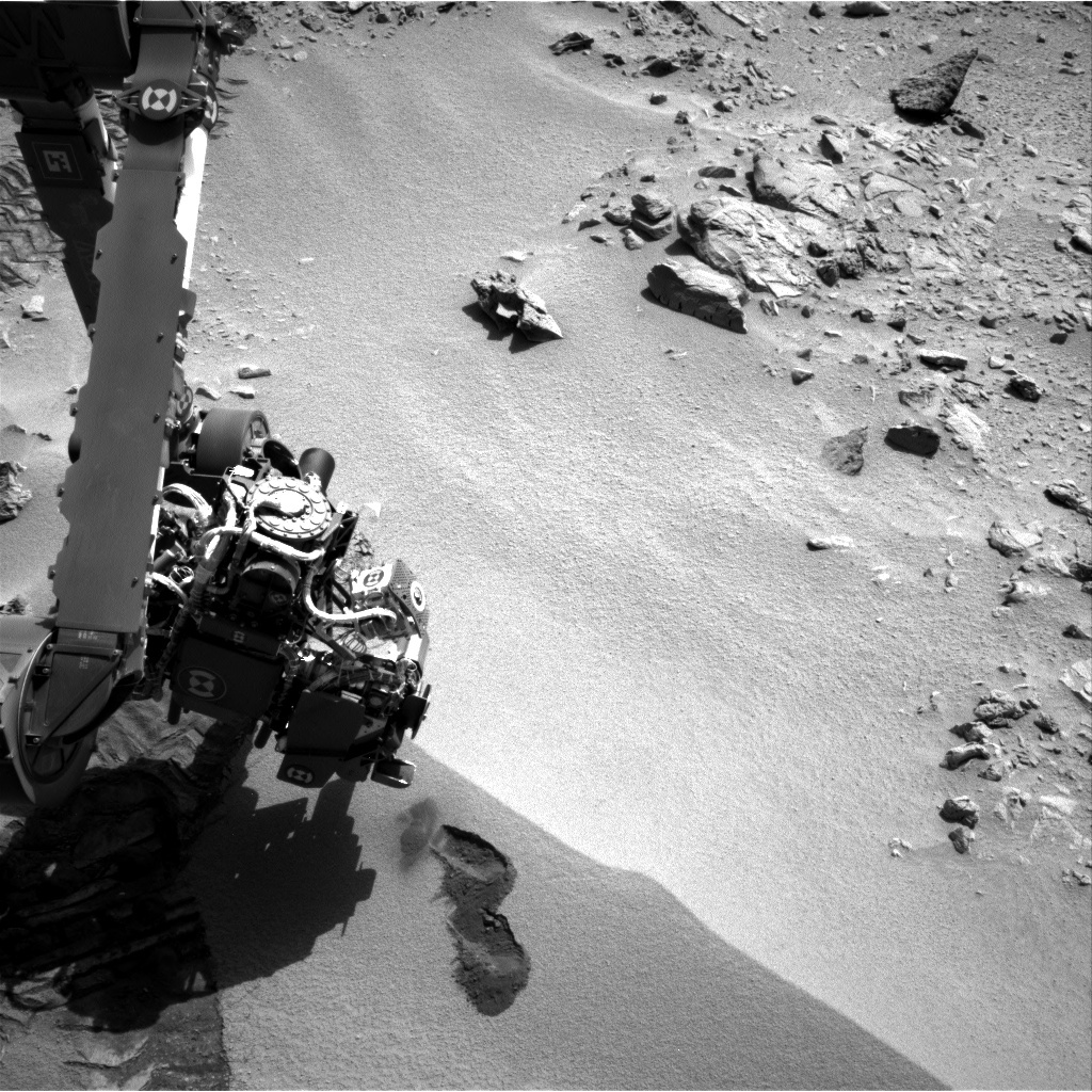 NASA's Mars rover Curiosity acquired this image using its Right Navigation Cameras (Navcams) on Sol 66