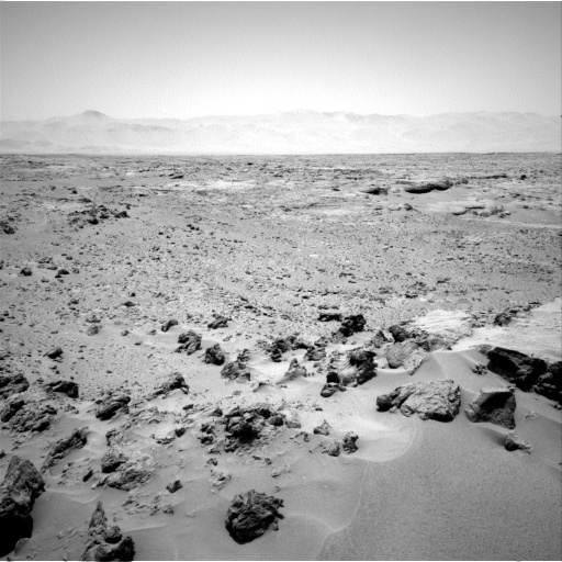 NASA's Mars rover Curiosity acquired this image using its Left Navigation Camera (Navcams) on Sol 69