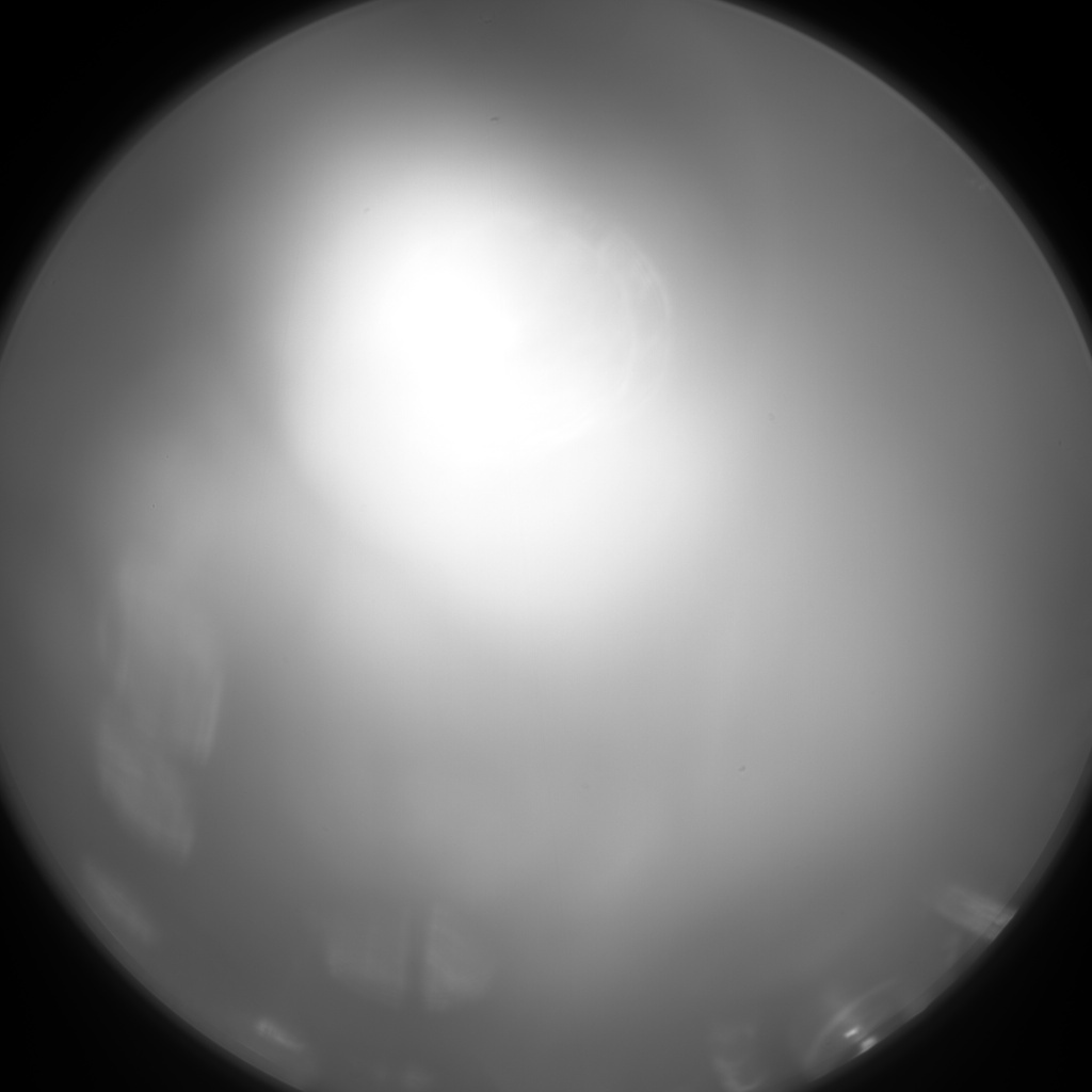 NASA's Mars rover Curiosity acquired this image using its Chemistry & Camera (ChemCam) on Sol 70