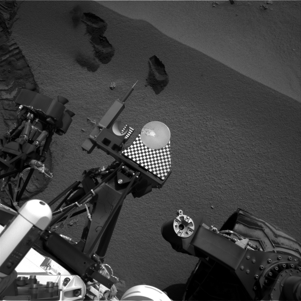 NASA's Mars rover Curiosity acquired this image using its Right Navigation Cameras (Navcams) on Sol 70