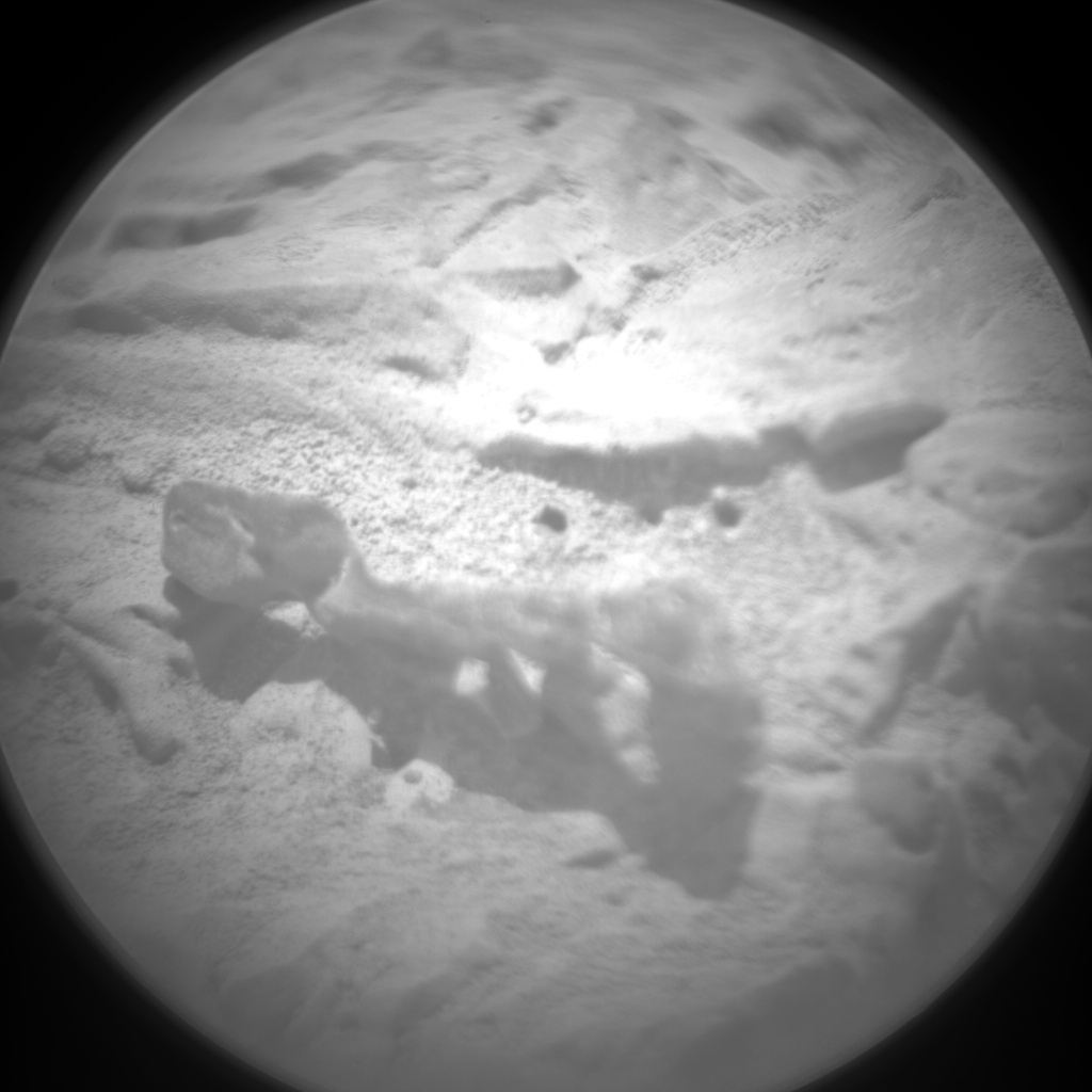 NASA's Mars rover Curiosity acquired this image using its Chemistry & Camera (ChemCam) on Sol 71