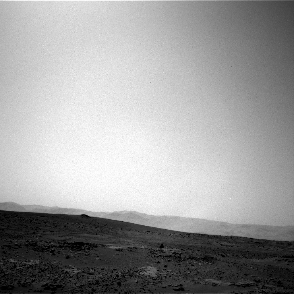 NASA's Mars rover Curiosity acquired this image using its Left Navigation Camera (Navcams) on Sol 71