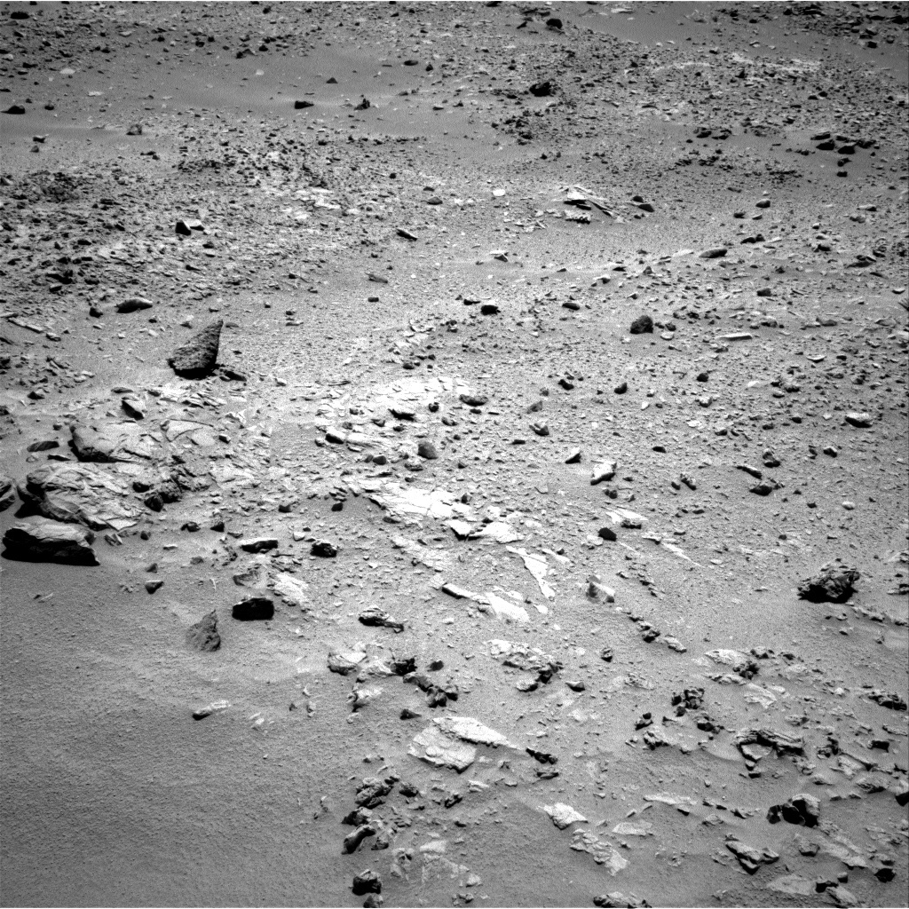 NASA's Mars rover Curiosity acquired this image using its Right Navigation Cameras (Navcams) on Sol 71