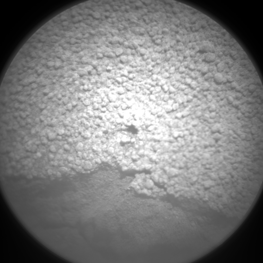 NASA's Mars rover Curiosity acquired this image using its Chemistry & Camera (ChemCam) on Sol 72
