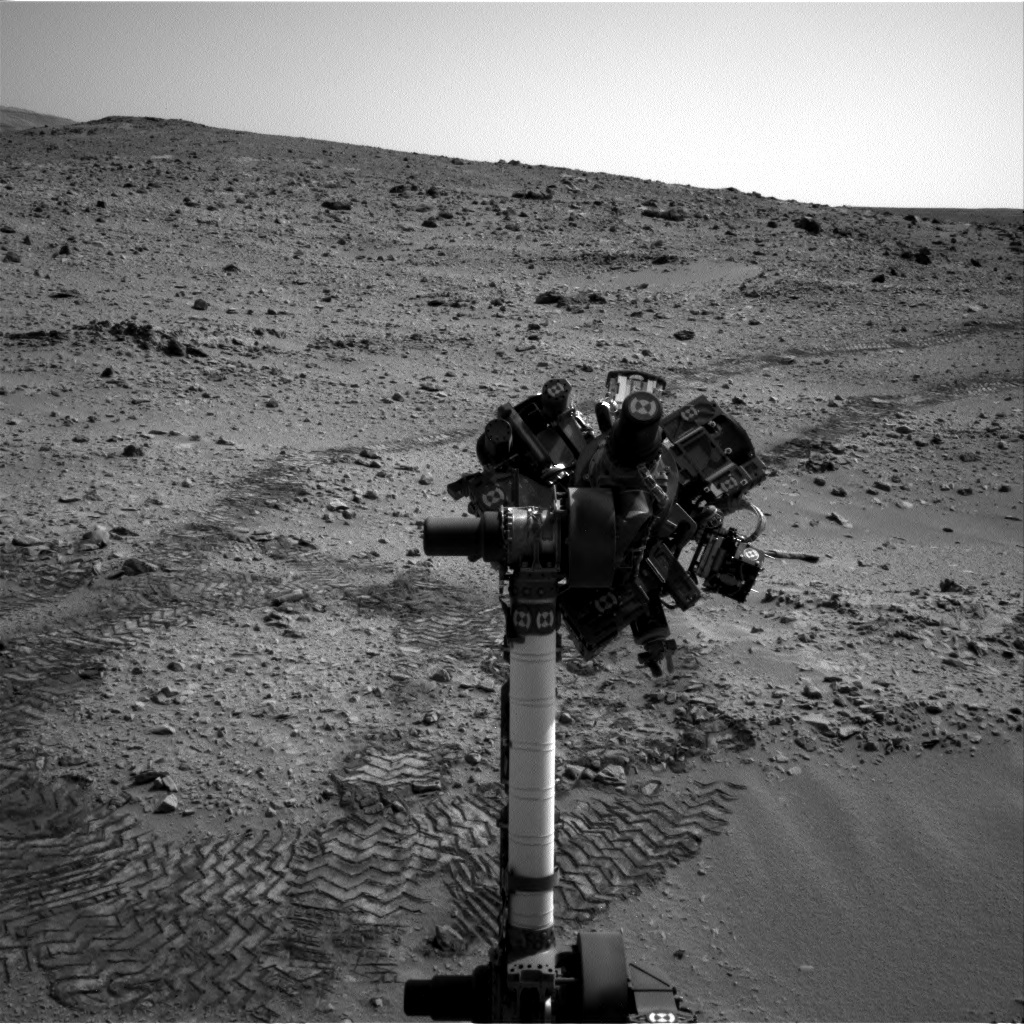 NASA's Mars rover Curiosity acquired this image using its Left Navigation Camera (Navcams) on Sol 73