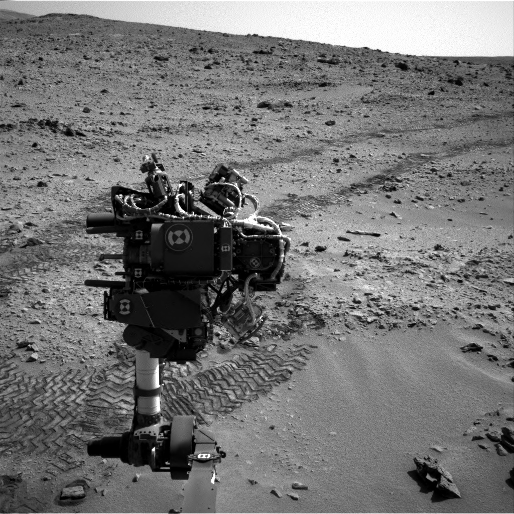 NASA's Mars rover Curiosity acquired this image using its Right Navigation Cameras (Navcams) on Sol 73