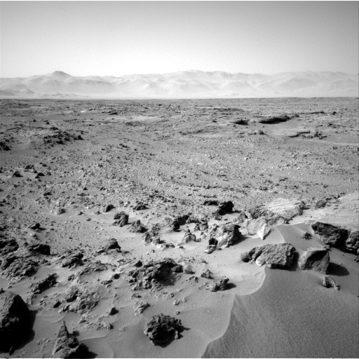 NASA's Mars rover Curiosity acquired this image using its Left Navigation Camera (Navcams) on Sol 75