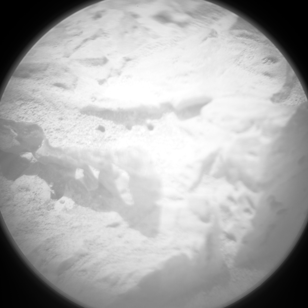 NASA's Mars rover Curiosity acquired this image using its Chemistry & Camera (ChemCam) on Sol 76
