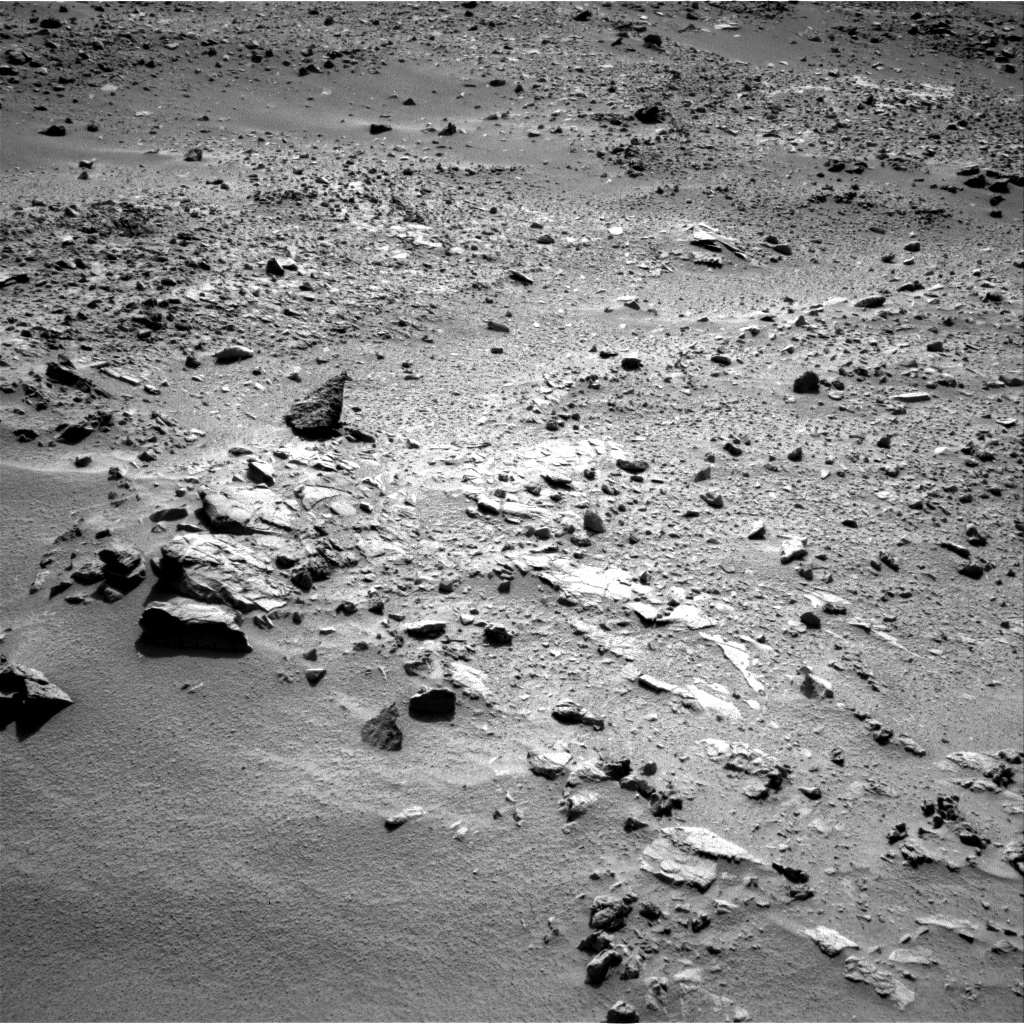 NASA's Mars rover Curiosity acquired this image using its Left Navigation Camera (Navcams) on Sol 76