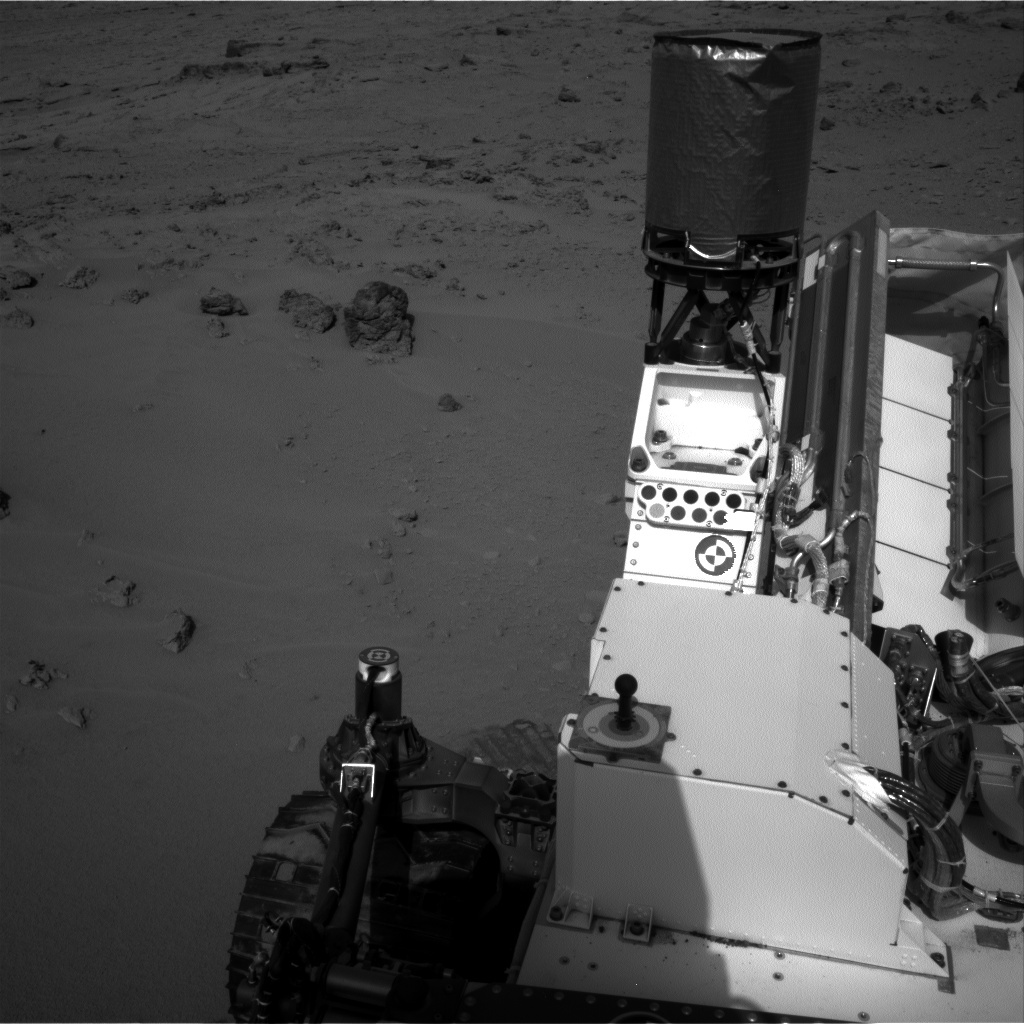 NASA's Mars rover Curiosity acquired this image using its Right Navigation Cameras (Navcams) on Sol 76