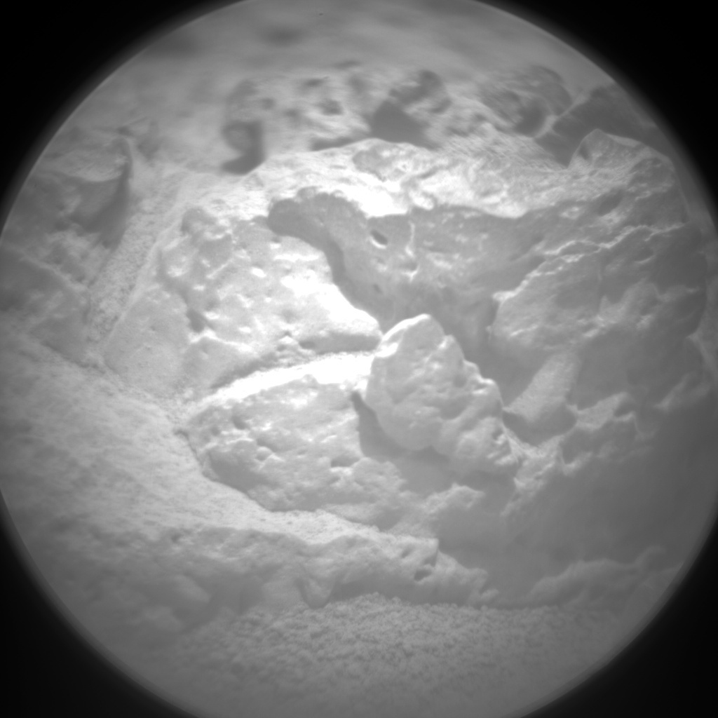 NASA's Mars rover Curiosity acquired this image using its Chemistry & Camera (ChemCam) on Sol 77