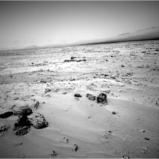NASA's Mars rover Curiosity acquired this image using its Left Navigation Camera (Navcams) on Sol 77