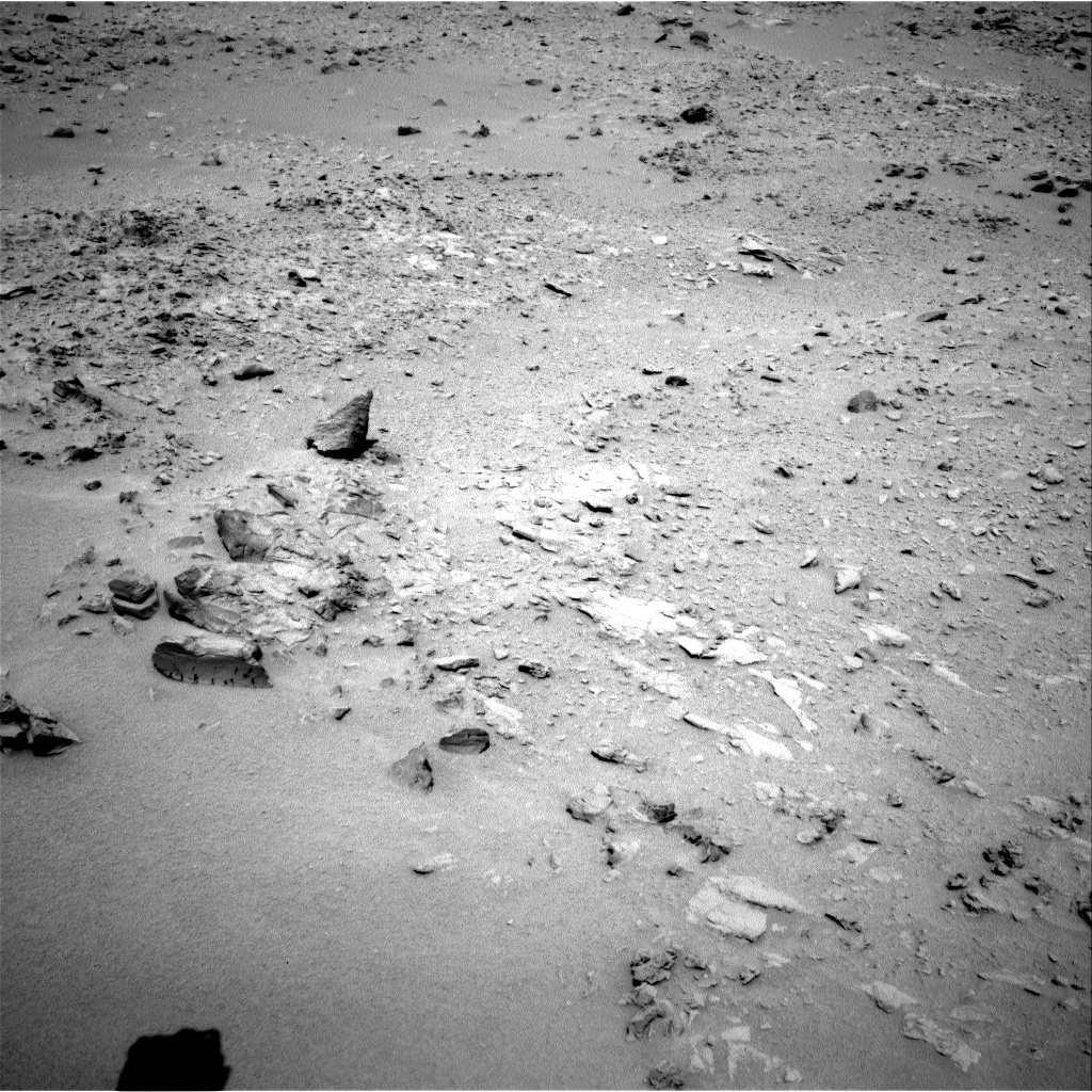NASA's Mars rover Curiosity acquired this image using its Left Navigation Camera (Navcams) on Sol 78