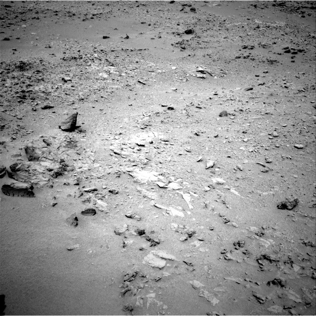 NASA's Mars rover Curiosity acquired this image using its Right Navigation Cameras (Navcams) on Sol 78