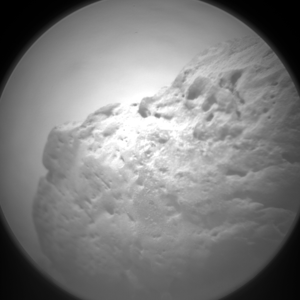 NASA's Mars rover Curiosity acquired this image using its Chemistry & Camera (ChemCam) on Sol 79