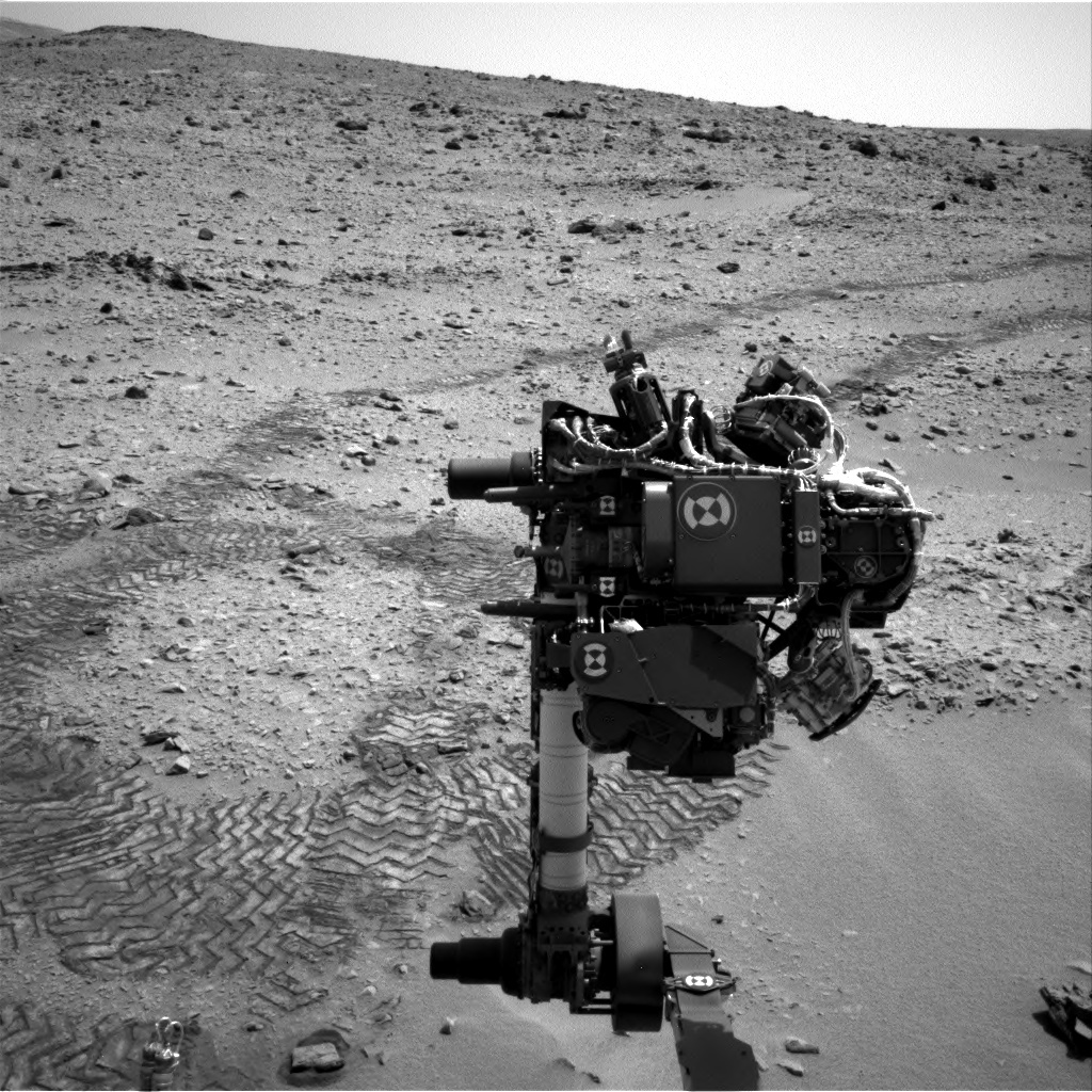 NASA's Mars rover Curiosity acquired this image using its Left Navigation Camera (Navcams) on Sol 81