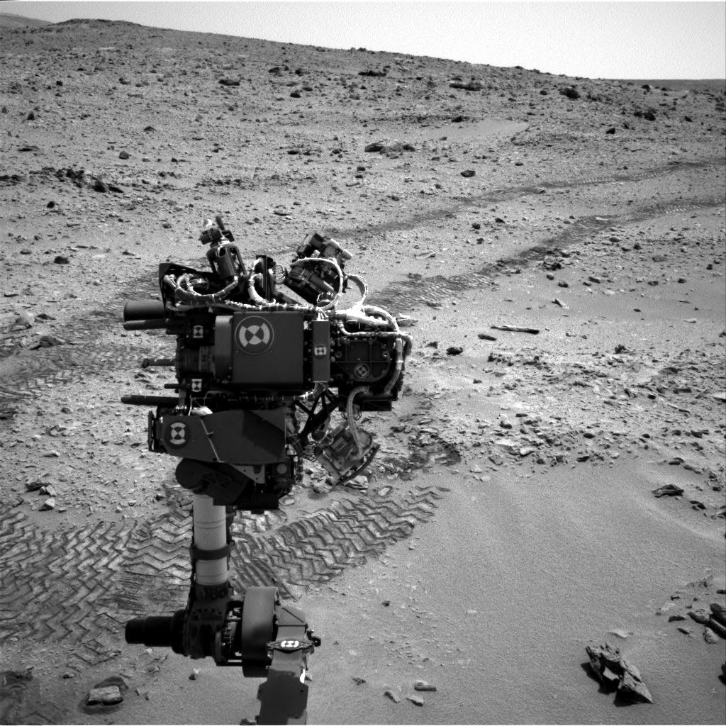 NASA's Mars rover Curiosity acquired this image using its Right Navigation Cameras (Navcams) on Sol 81