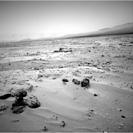 NASA's Mars rover Curiosity acquired this image using its Left Navigation Camera (Navcams) on Sol 82