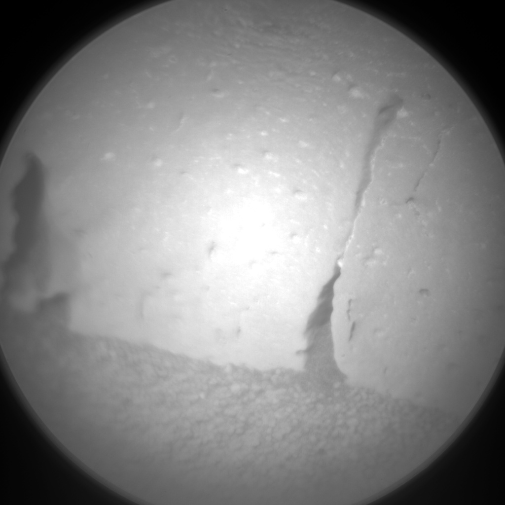 NASA's Mars rover Curiosity acquired this image using its Chemistry & Camera (ChemCam) on Sol 84
