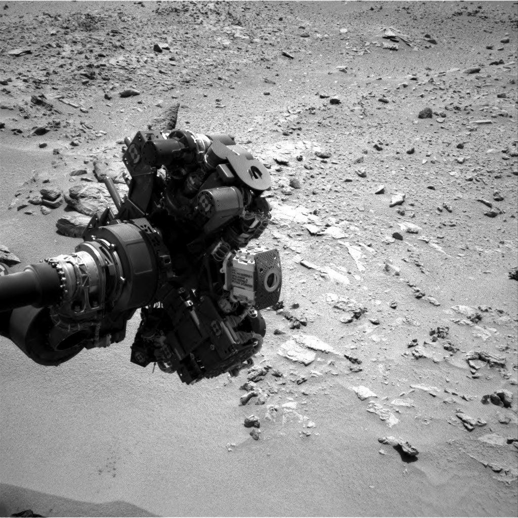 NASA's Mars rover Curiosity acquired this image using its Right Navigation Cameras (Navcams) on Sol 84