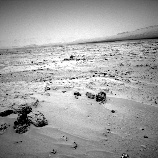 NASA's Mars rover Curiosity acquired this image using its Left Navigation Camera (Navcams) on Sol 85