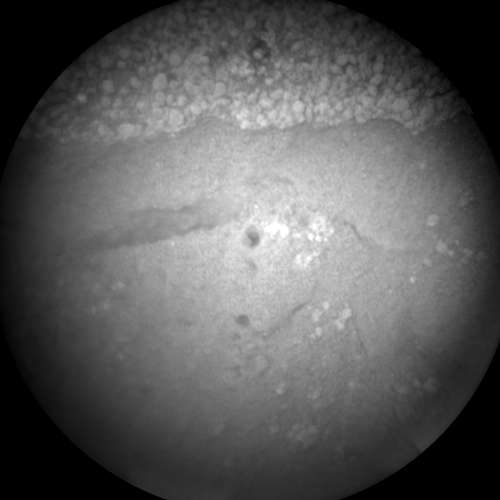 Nasa's Mars rover Curiosity acquired this image using its Chemistry & Camera (ChemCam) on Sol 85, at drive 104, site number 5