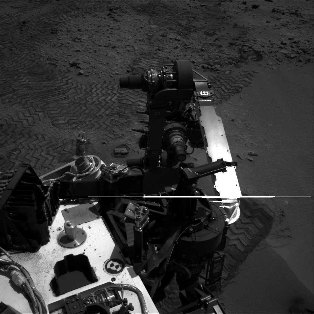 NASA's Mars rover Curiosity acquired this image using its Left Navigation Camera (Navcams) on Sol 86