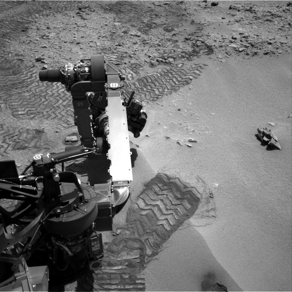 NASA's Mars rover Curiosity acquired this image using its Right Navigation Cameras (Navcams) on Sol 86