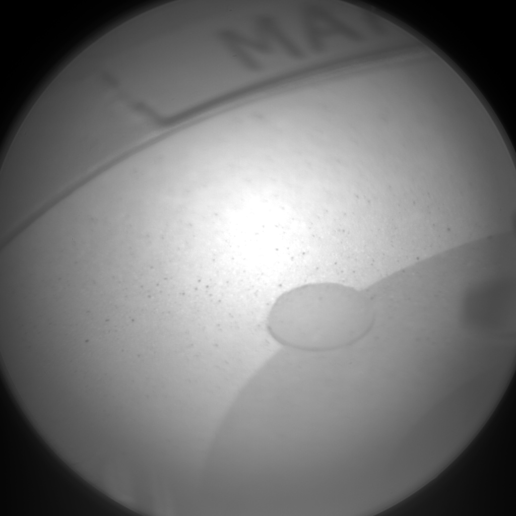 Nasa's Mars rover Curiosity acquired this image using its Chemistry & Camera (ChemCam) on Sol 87, at drive 104, site number 5