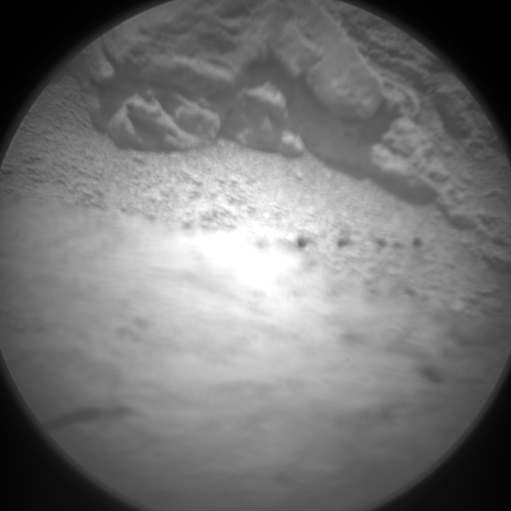NASA's Mars rover Curiosity acquired this image using its Chemistry & Camera (ChemCam) on Sol 88