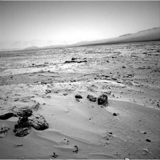 NASA's Mars rover Curiosity acquired this image using its Left Navigation Camera (Navcams) on Sol 88