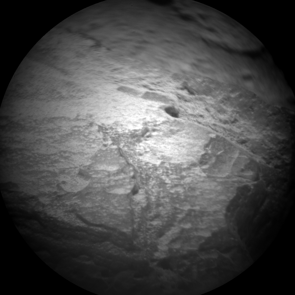 Nasa's Mars rover Curiosity acquired this image using its Chemistry & Camera (ChemCam) on Sol 88, at drive 104, site number 5