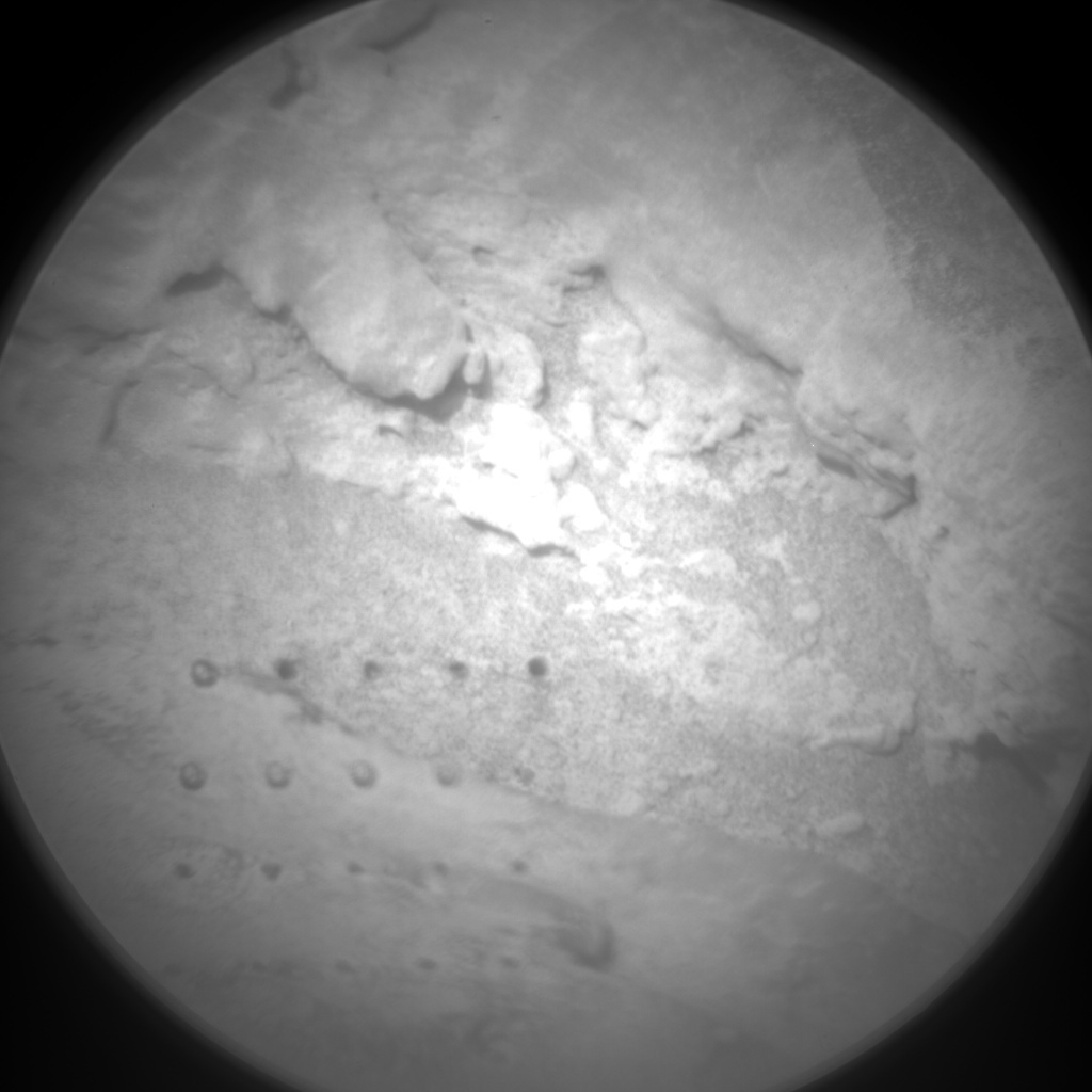 NASA's Mars rover Curiosity acquired this image using its Chemistry & Camera (ChemCam) on Sol 90