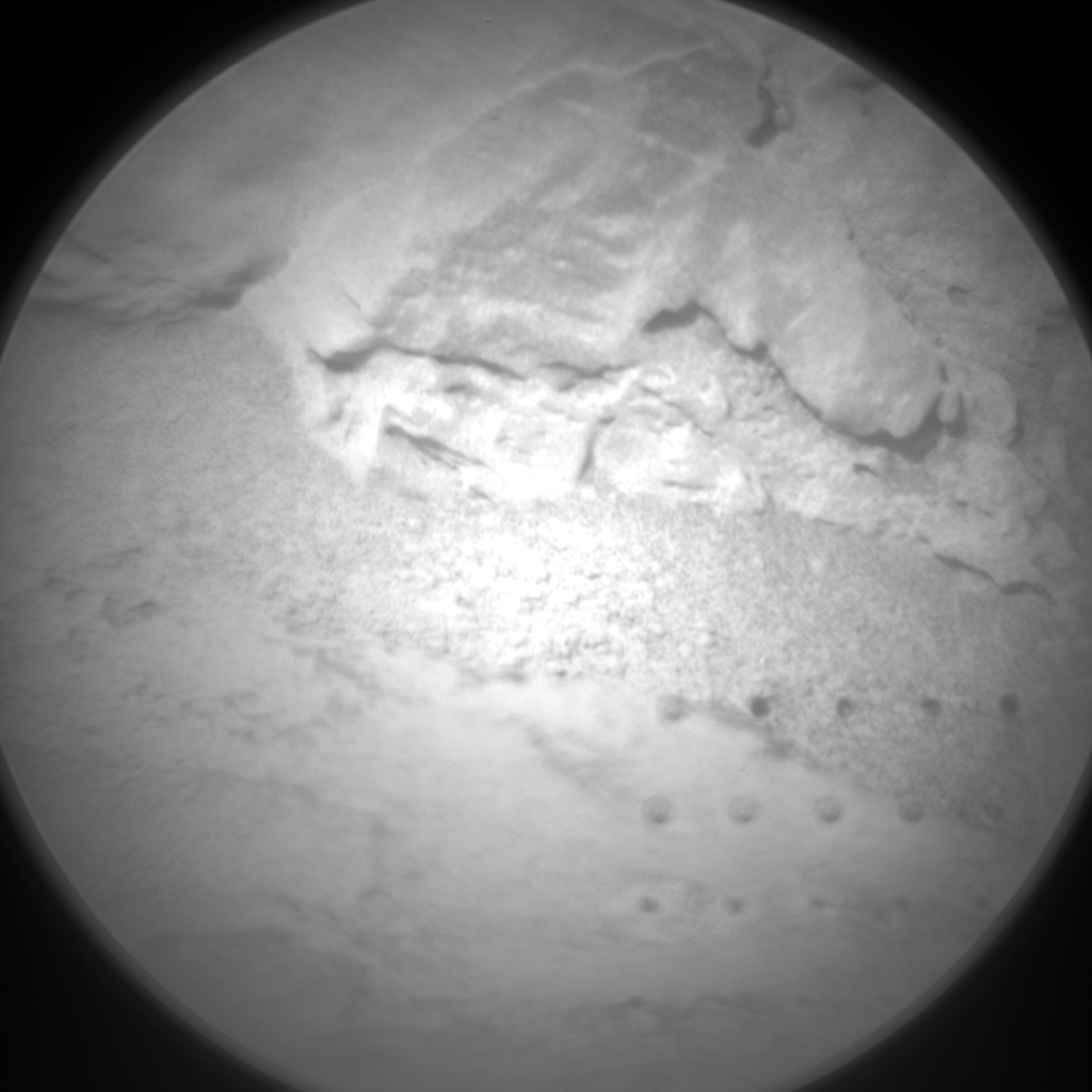 Nasa's Mars rover Curiosity acquired this image using its Chemistry & Camera (ChemCam) on Sol 90, at drive 104, site number 5