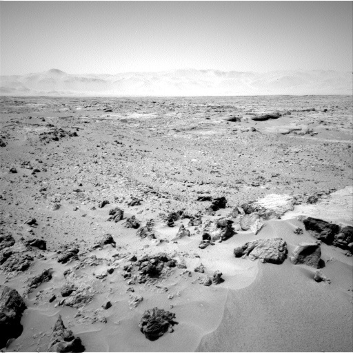 NASA's Mars rover Curiosity acquired this image using its Left Navigation Camera (Navcams) on Sol 90