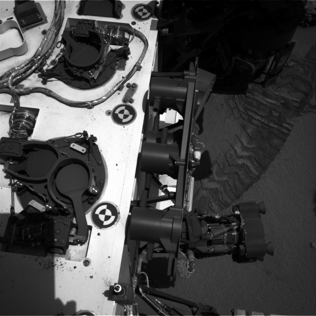 NASA's Mars rover Curiosity acquired this image using its Right Navigation Cameras (Navcams) on Sol 90