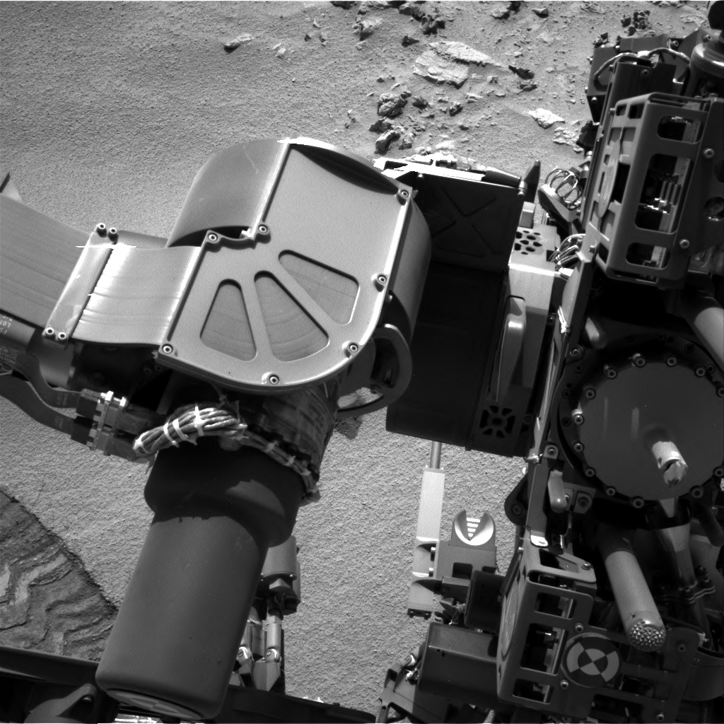 NASA's Mars rover Curiosity acquired this image using its Left Navigation Camera (Navcams) on Sol 91