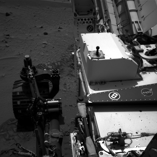 NASA's Mars rover Curiosity acquired this image using its Left Navigation Camera (Navcams) on Sol 92