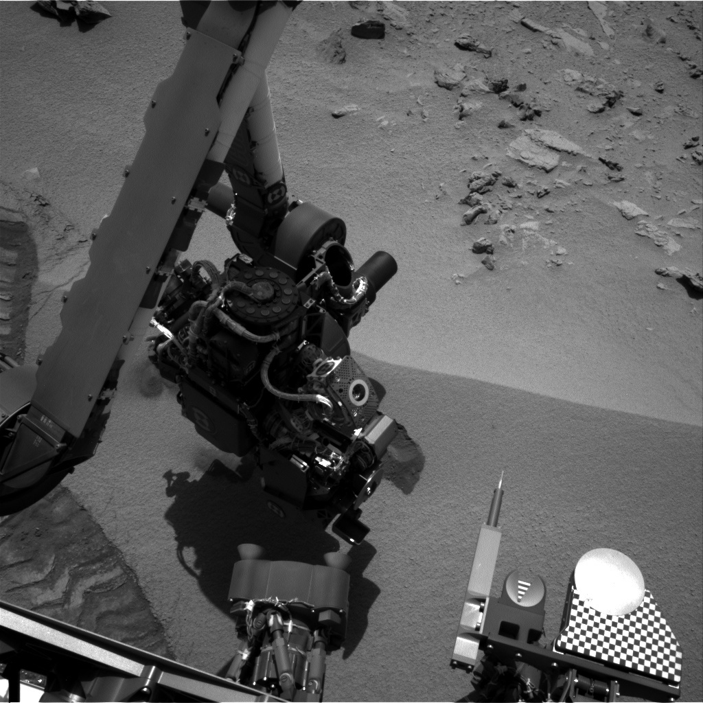 NASA's Mars rover Curiosity acquired this image using its Left Navigation Camera (Navcams) on Sol 93