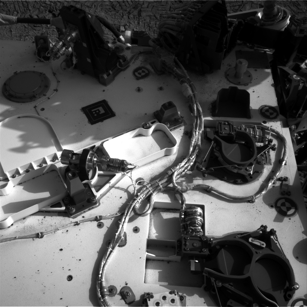 NASA's Mars rover Curiosity acquired this image using its Left Navigation Camera (Navcams) on Sol 94