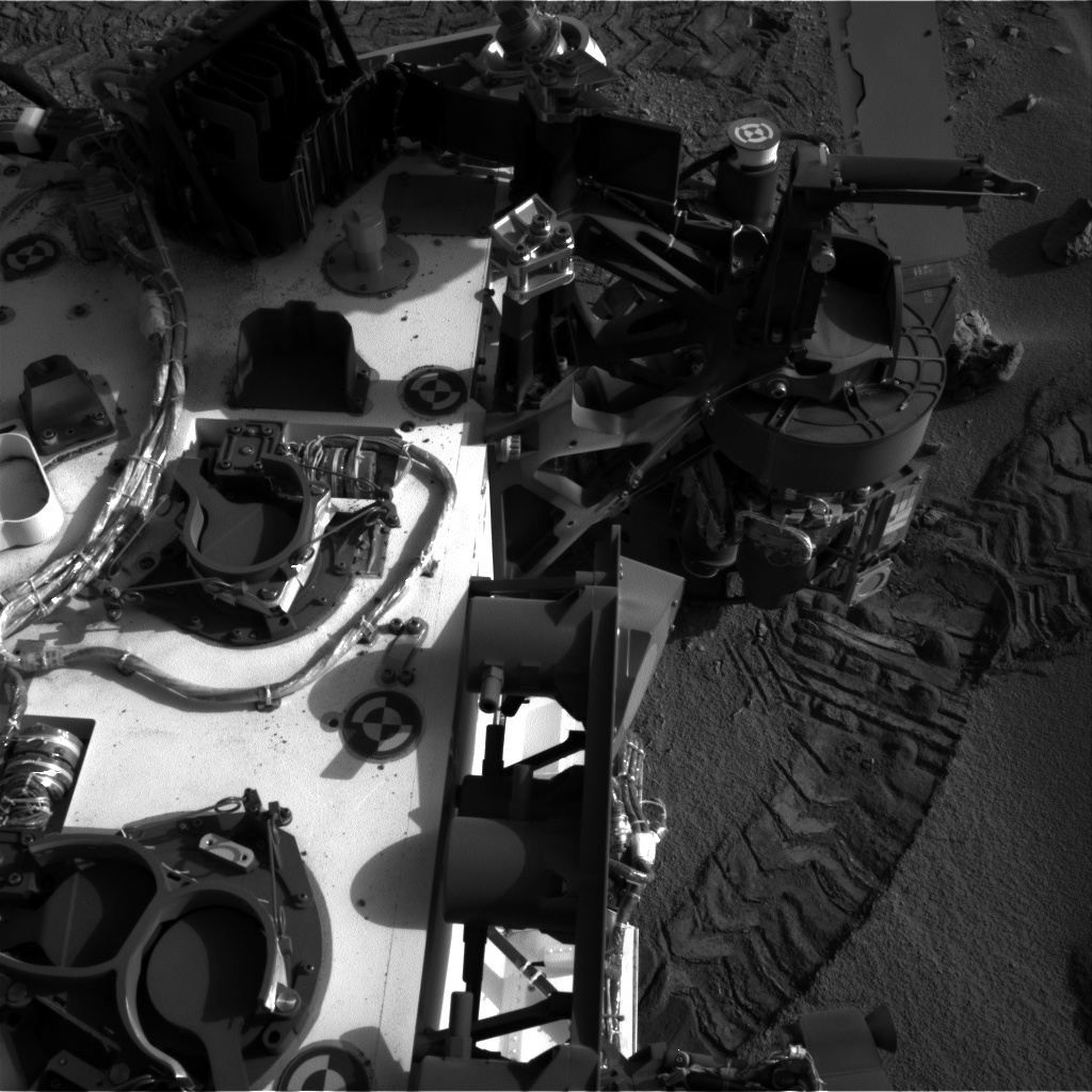 NASA's Mars rover Curiosity acquired this image using its Right Navigation Cameras (Navcams) on Sol 94
