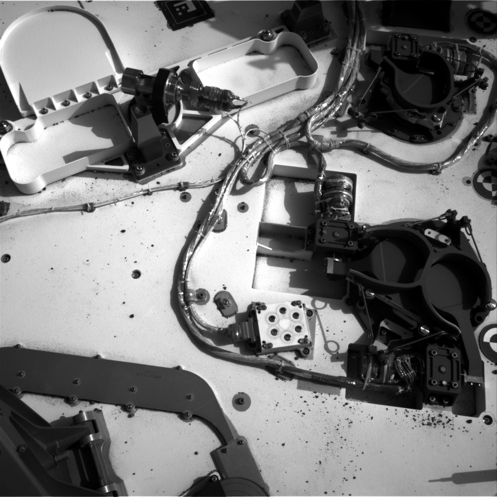 NASA's Mars rover Curiosity acquired this image using its Left Navigation Camera (Navcams) on Sol 96