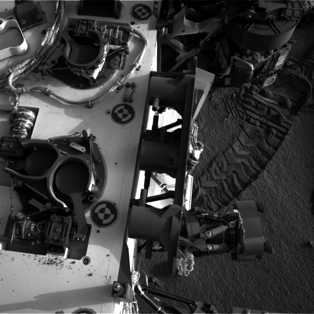 NASA's Mars rover Curiosity acquired this image using its Right Navigation Cameras (Navcams) on Sol 96
