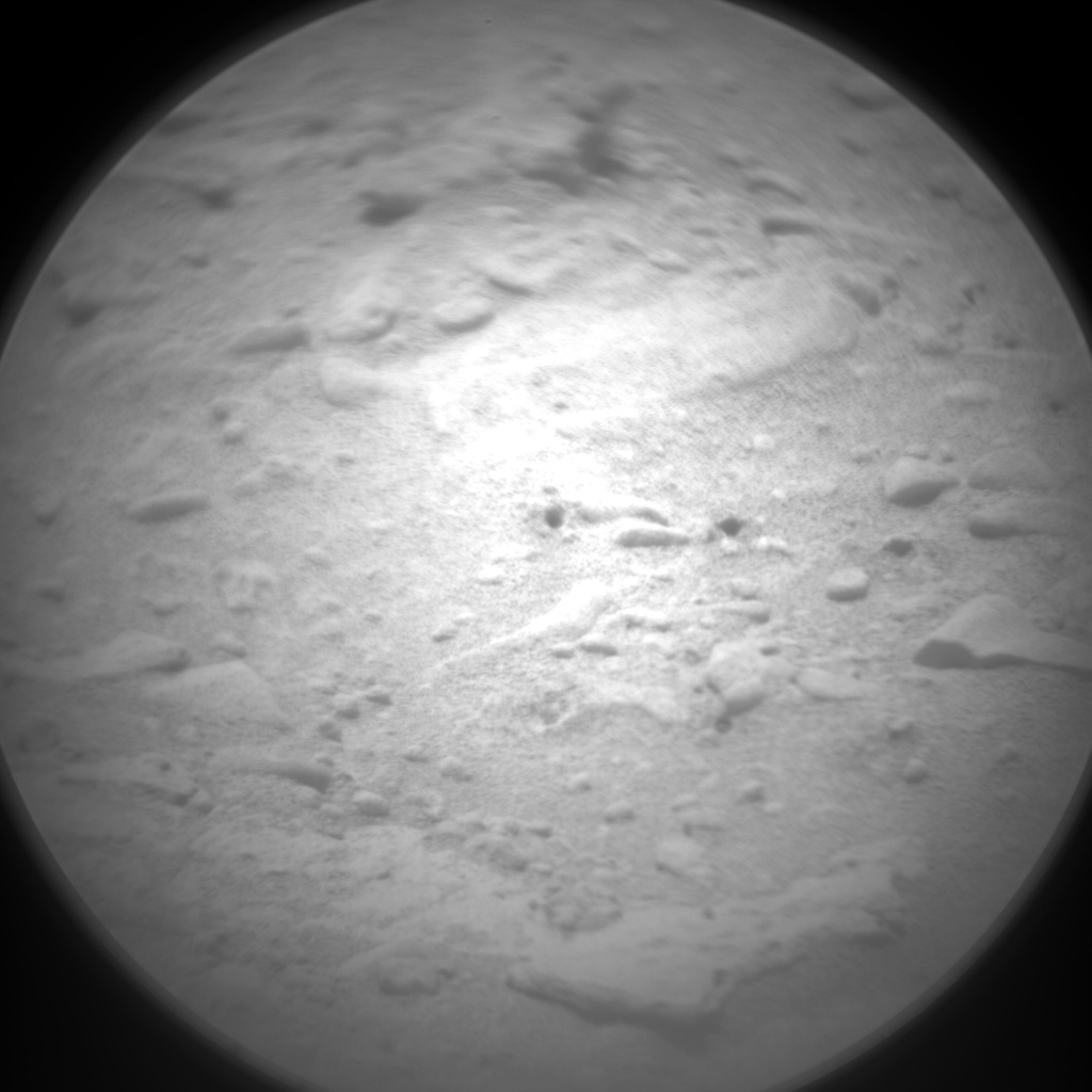 NASA's Mars rover Curiosity acquired this image using its Chemistry & Camera (ChemCam) on Sol 97